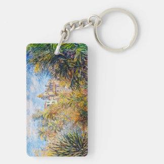 The Moreno Garden at Bordighera, 1884 Claude Monet Double-Sided Rectangular Acrylic Keychain
