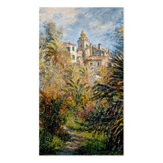 The Moreno Garden at Bordighera - Claude Monet Business Card