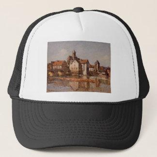 The Moret Bridge by Alfred Sisley Trucker Hat
