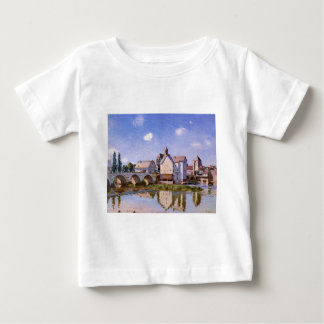 The Moret Bridge in the Sunlight by Alfred Sisley T Shirt