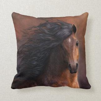 The Morgan Horse Designer Pillow