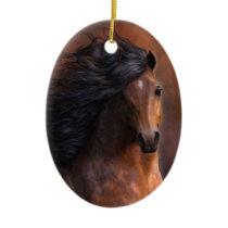The Morgan Horse Ornament