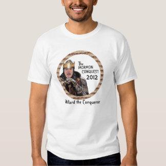 The Mormon Conquest: Mitt Romney T-shirt