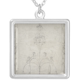 The Morning, 1803 Silver Plated Necklace