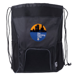 The Morning After - 1969 promo graphic Drawstring Backpack