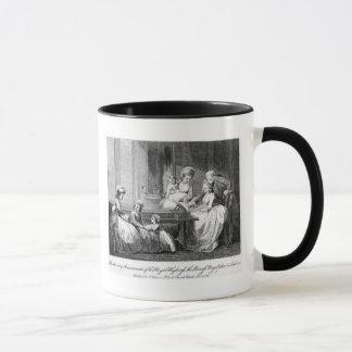 The Morning Amusements of the Royal Family Mug