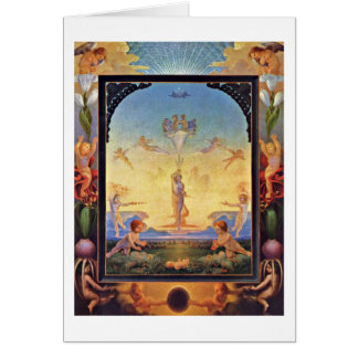 The Morning By Philipp Otto Runge Greeting Card