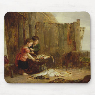 The Morning Catch, 19th century Mouse Pad