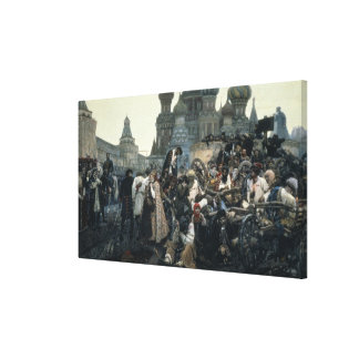 The Morning of the Execution of the Streltsy Canvas Print