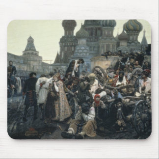 The Morning of the Execution of the Streltsy Mouse Pad