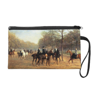 The Morning Ride Rotten Row Hyde Park 1894 oil Wristlet