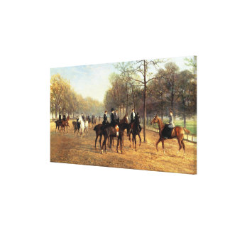 The Morning Ride, Rotten Row, Hyde Park, 1894 (oil Canvas Print