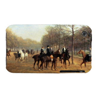 The Morning Ride, Rotten Row, Hyde Park, 1894 (oil Case-Mate iPhone 3 Cases