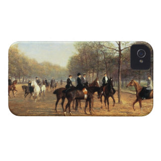 The Morning Ride, Rotten Row, Hyde Park, 1894 (oil iPhone 4 Case