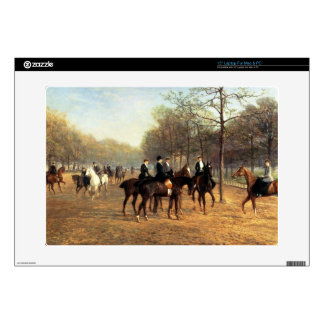 The Morning Ride, Rotten Row, Hyde Park, 1894 (oil Decal For Laptop