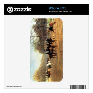 The Morning Ride, Rotten Row, Hyde Park, 1894 (oil Decals For iPhone 4S