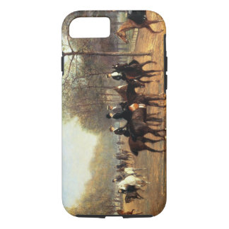 The Morning Ride, Rotten Row, Hyde Park, 1894 (oil iPhone 8/7 Case
