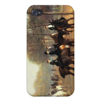 The Morning Ride, Rotten Row, Hyde Park, 1894 (oil iPhone 4 Cover