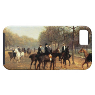 The Morning Ride, Rotten Row, Hyde Park, 1894 (oil iPhone SE/5/5s Case