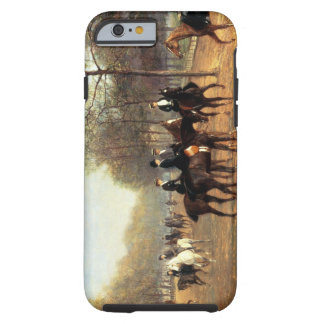 The Morning Ride, Rotten Row, Hyde Park, 1894 (oil Tough iPhone 6 Case