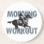 The Morning Workout Beverage Coaster