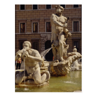 The Moro Fountain Postcard
