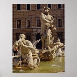 The Moro Fountain Poster