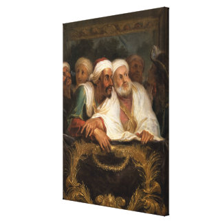 The Moroccan Ambassador and his Entourage Gallery Wrapped Canvas