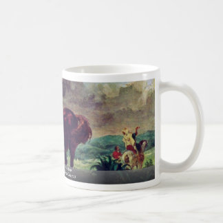 The Moroccan And His Horse Classic White Coffee Mug