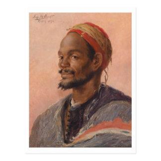 The Moroccan by Ferdinand Willaert Postcard