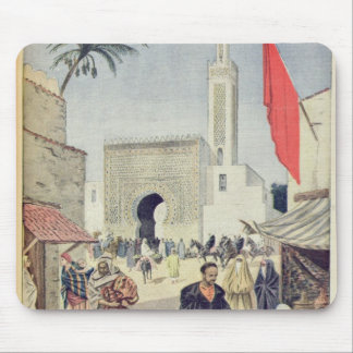 The Moroccan Pavilion at the Universal Exhibition Mouse Pad