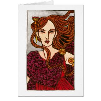 The Mórrígan Greeting Card