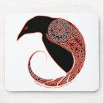 The Morrigan Raven Celtic mousepad