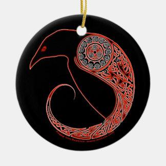 The Morrigan Raven Celtic Ornament