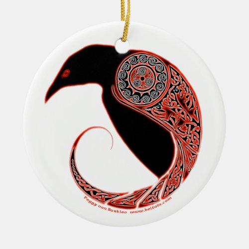 The Morrigan Raven Celtic Ornament #2
