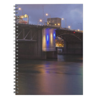 The Morrison bridge over the Willamette river Notebook