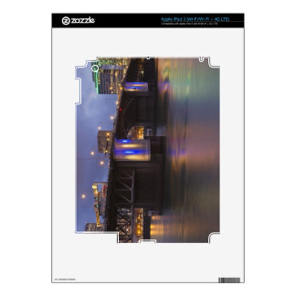 The Morrison bridge over the Willamette river Skins For iPad 3