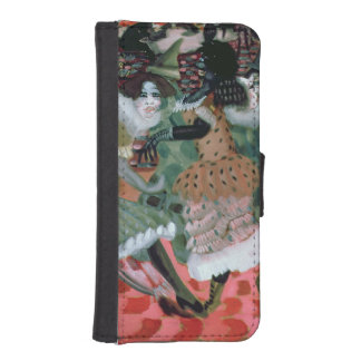 The Morte-Saison in Paris, 1913 Wallet Phone Case For iPhone SE/5/5s