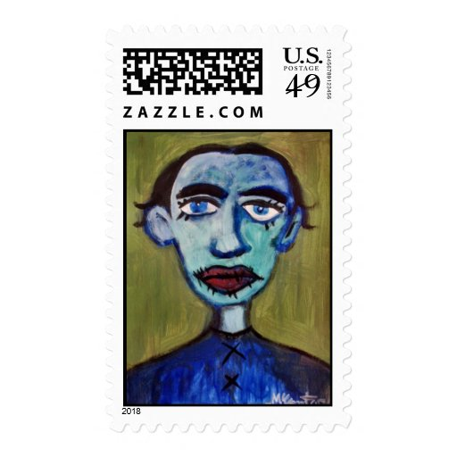 The Mortician Stamp