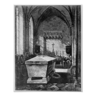 The Mortuary Chapel at St. Mary's Church Poster