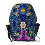 The Mosaic Flower Garden Messenger Bag