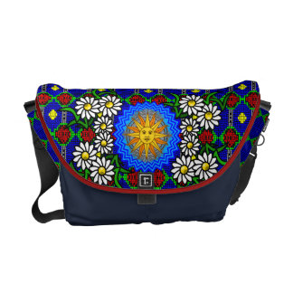 The Mosaic Sun and Garden Messenger Bag