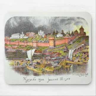 The Moscow Kremlin in the time of Tsar Ivan III Mouse Pad