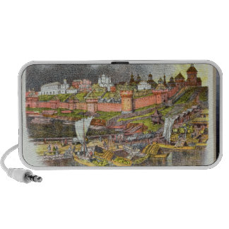 The Moscow Kremlin in the time of Tsar Ivan III iPhone Speaker