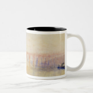 The Moselle Bridge, Coblenz, c.1842 (w/c & graphit Two-Tone Coffee Mug
