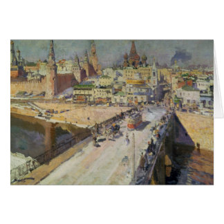The Moskva River Bridge, 1914 Card