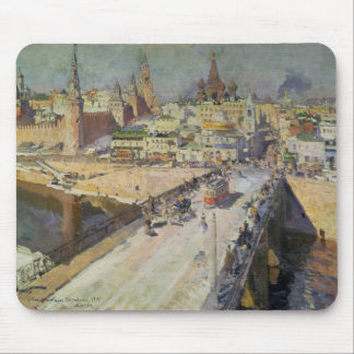 The Moskva River Bridge, 1914 Mouse Pad