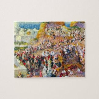 The mosque (Arabian Fest) by Pierre Renoir Puzzle