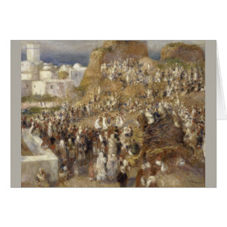 The Mosque by Pierre-Auguste Renoir Card