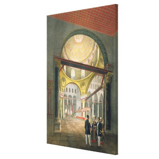 The Mosque El Aksa, from 'Souvenirs of Jerusalem', Stretched Canvas Print